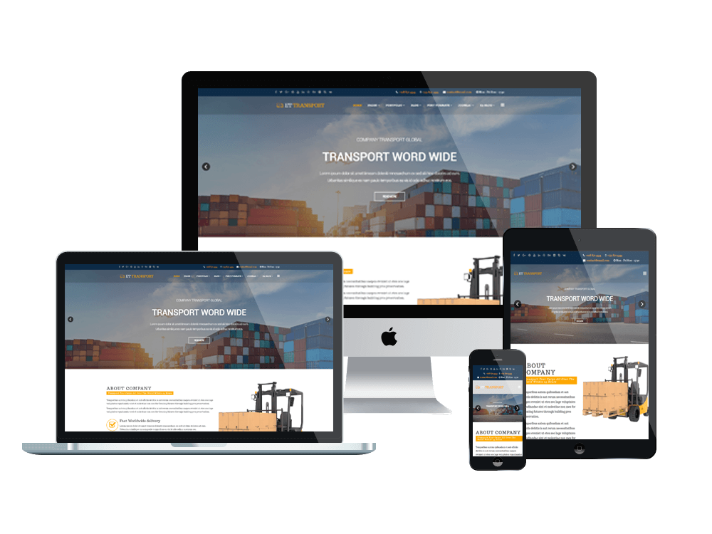 sito one page responsive
